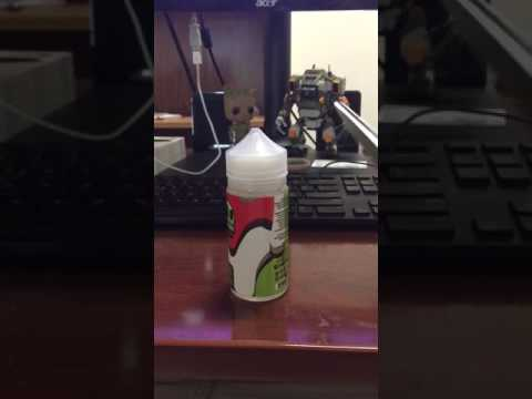 How to open Air Factory E-Juice Bottle