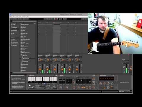 Matt Borghi - Improvised Ambient Guitar with Ableton Live #1