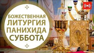 Божественная литургия. Панихида. Трансляция. 19 июня (суббота) в 8:00