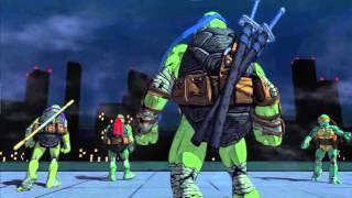 Teenage Mutant Ninja Turtles: Mutants in Manhattan | Announce trailer | PS4 & PS3