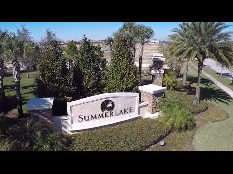 summerlake winter garden homes lennar kb beazer and mi homes aerial flyover. Interior Design Ideas. Home Design Ideas