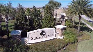 Summerlake Winter Garden Homes - Lennar, KB, Beazer and M/I Homes - Aerial Flyover!