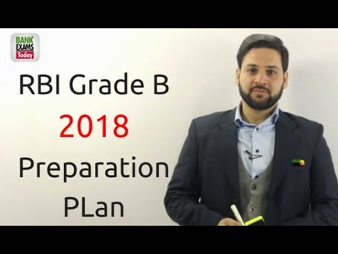RBI Grade B 2018 Preparation Plan