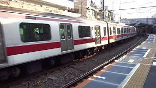 東急東横線5050系5176F白楽駅発車
