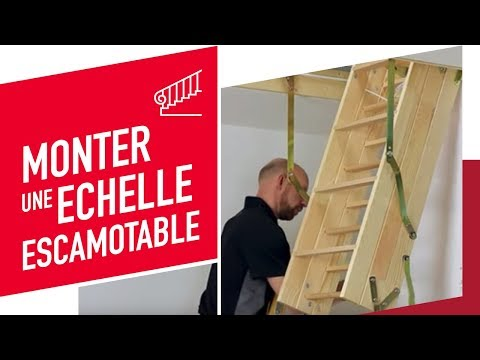 Montage d 39 une chelle escamotable confort click youtube - Montage escalier escamotable ...
