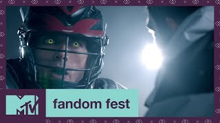 'Supernatural Lacrosse' Teen Wolf EXCLUSIVE Sneak Peek | Fandom Fest 2017 | MTV