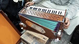 Harmonium Box-type, Flat Kangi, 42 keys, Bass-Male Baba Surjan Singh amp Sons Musical Instruments