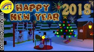 Happy New Year 2018 New Year Animation
