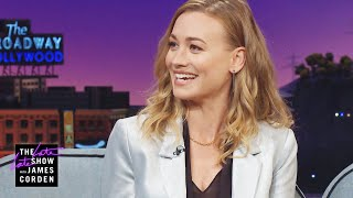Yvonne Strahovski's Family Needs to Check DVD Before Pressing Play