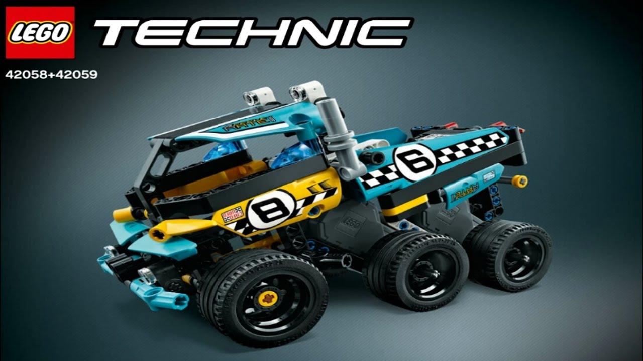2017 lego technic power racer instruction 42058 42059. Black Bedroom Furniture Sets. Home Design Ideas