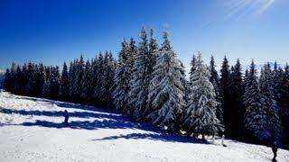 видео Буковель: лучший горнолыжный курорт в Карпатах