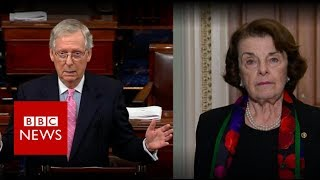 Feinstein and McConnell differ sharply on FBI report on Kavanaugh - BBC News