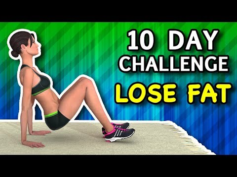 10 Day Challenge – 10 Minute Workout To Lose Fat Fast