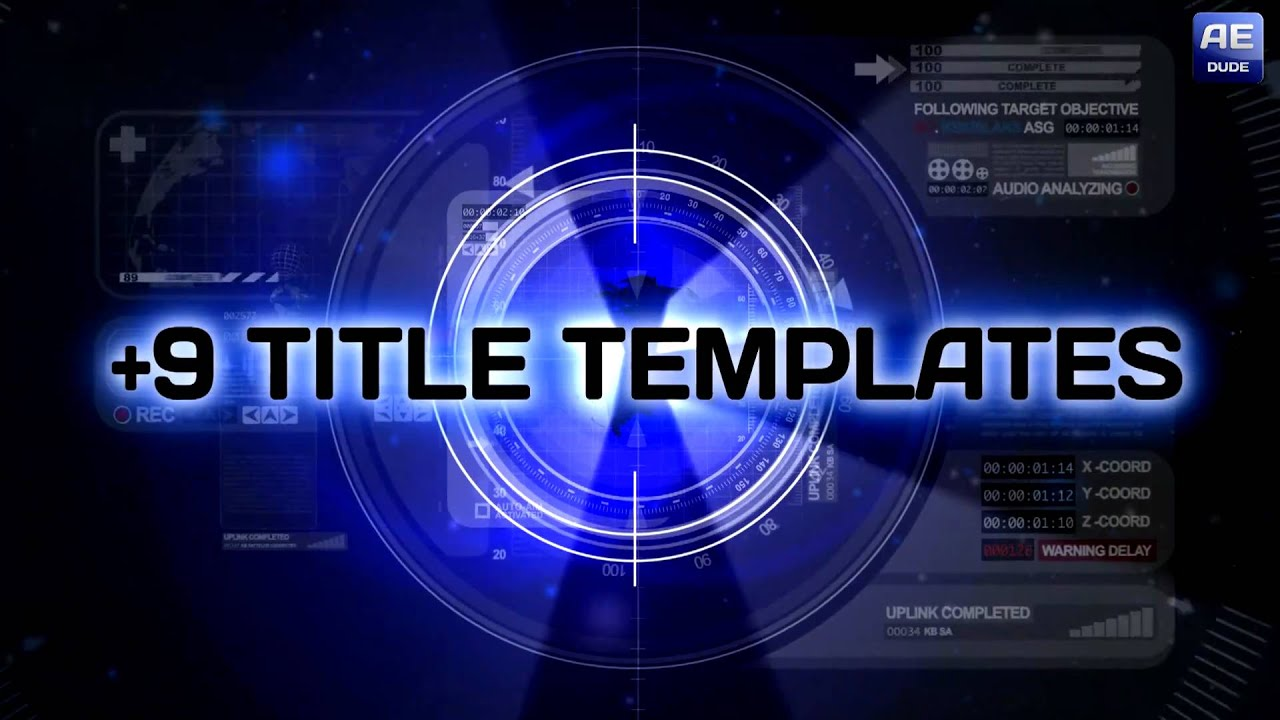 download template after effect cs4 - adobe after effects cs4 template projects footage yicub