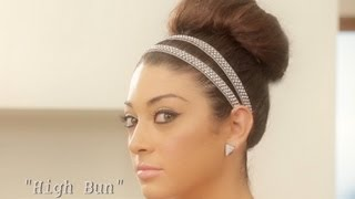 Big Bun Updo - Loose Top Knot - by Julianne Kaye Thumbnail