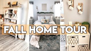 FALL HOME TOUR 2019 | FALL DECOR | FARMHOUSE TOUR