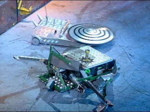 Robot Wars Classics: Hypno-Disc vs. Splinter
