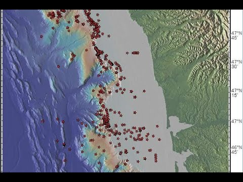 1,700+ Methane Vents Along Cascadia Fault Line