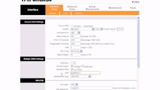 Промзв'язок М-200А: Налаштування бездротового з'єднання