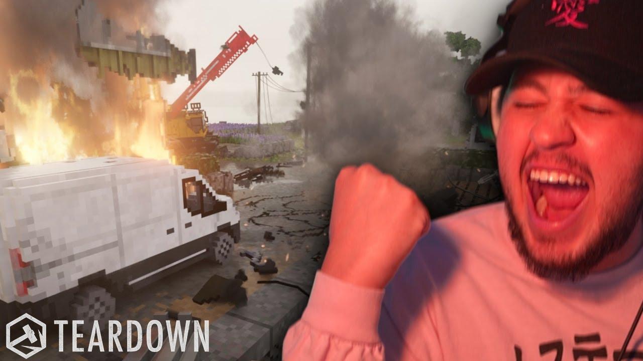 A GAME WHERE YOU LITERALLY BREAK EVERYTHING!   TearDown #1