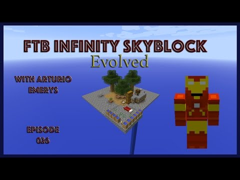 FTB Infinity Evolved Skyblock EP 026(Metal and Mineral Seeds)