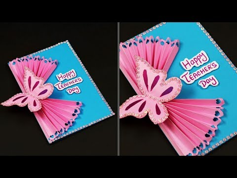 Handmade Teachers Day Card Making Idea | DIY Teacher's Day Card