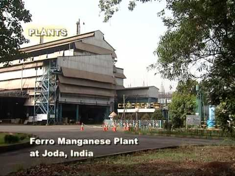 Ferro Alloys and Minerals Division of TATA STEEL - 3 min video