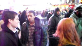 White Jews vs Black Jews?? seriously?, NYC Time Square,,