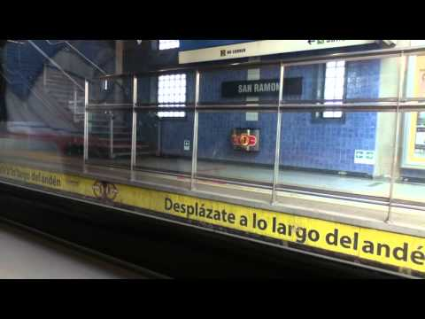 Santiago Metro (Line 4A) South of the City - Section 2