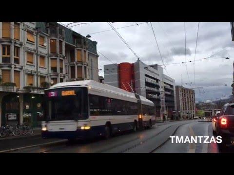NAW-HESS Trolleybusse # TPG (Geneva-Genève-Genf)