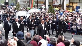 銀座お練りと歌舞伎座 2013(ノーカット) thumbnail