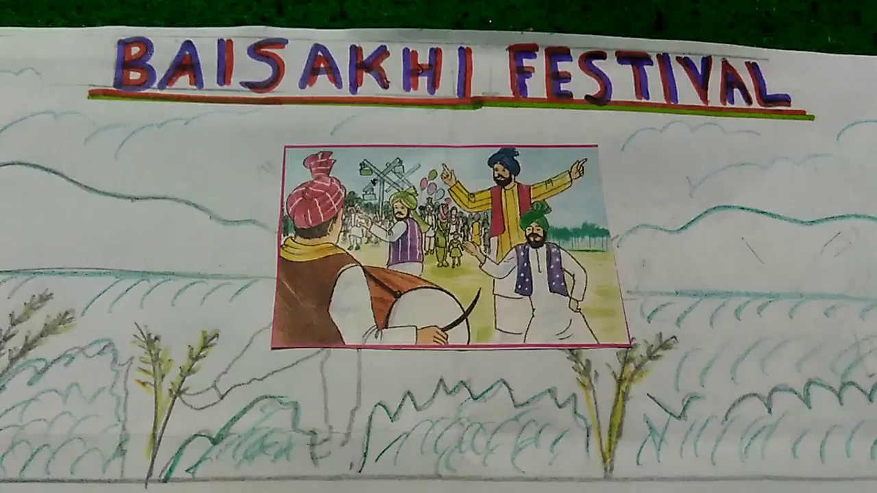 Write A Paragraph On Baisakhi Festival Youtube