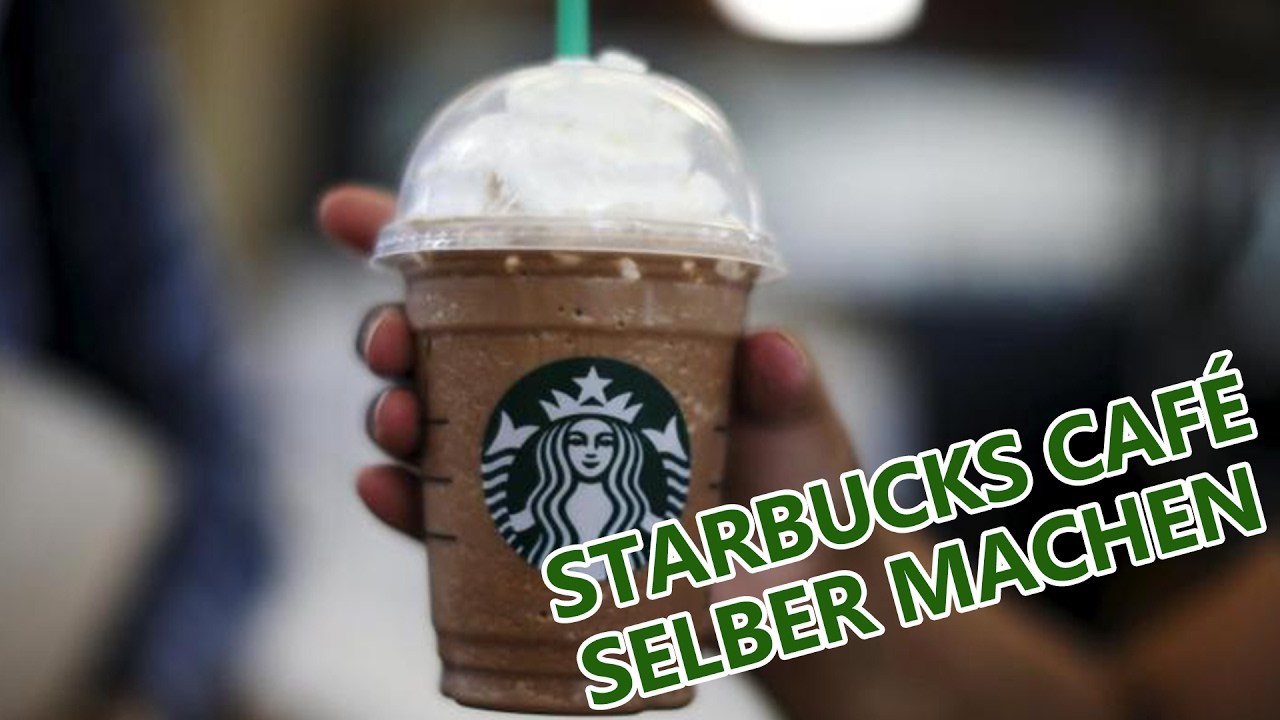 ☕ Starbucks Kaffee selber machen ⚡ JAM FM Style Chronicle - YouTube