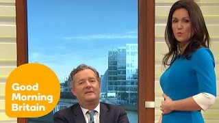 Piers Suggests Susanna Is Carrying Twins | Good Morning Britain