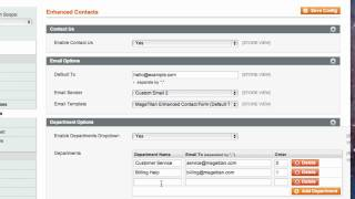Enhanced Contacts Magento Extension from MageTitan