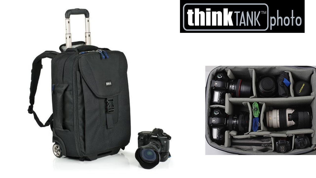 Airport TakeOff Rolling / Backpack Camera Bag - Think Thank Photo ...