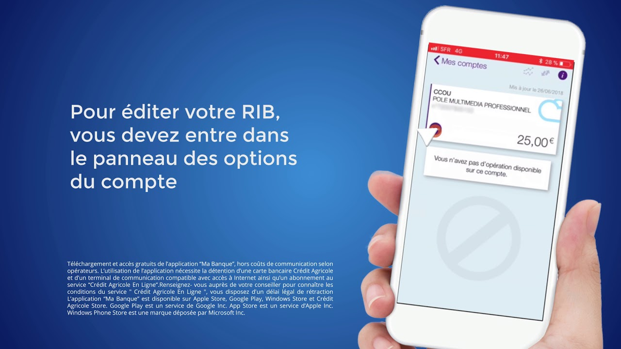 Comment Editer Ou Partager Un Rib Iban Youtube