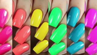 Swatches | Vice 2018 Collection by Cirque Colors Nail Polish