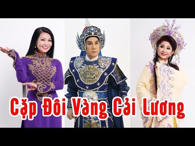 Kim Tử Long - Ngọc Huyền và Những Cặp Bạn Diễn VÀNG Trên Sân khấu Cải lương