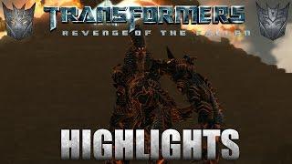 Transformers: Revenge of the Fallen Decepticon Highlights