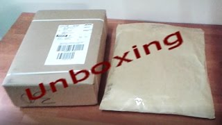 unboxing #1
