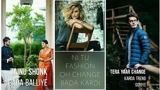 Trend Song Full screen status || Ramji Gulati || Sara Khan || Abhishek Sartaliya ||