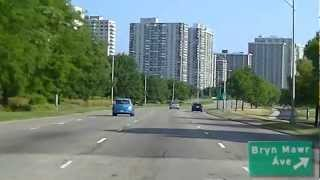 Driving Lakeshore Drive In Chicago