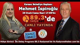 Karasu Belediye Başkanı Mehmet İspiroğlu Radyonet'de