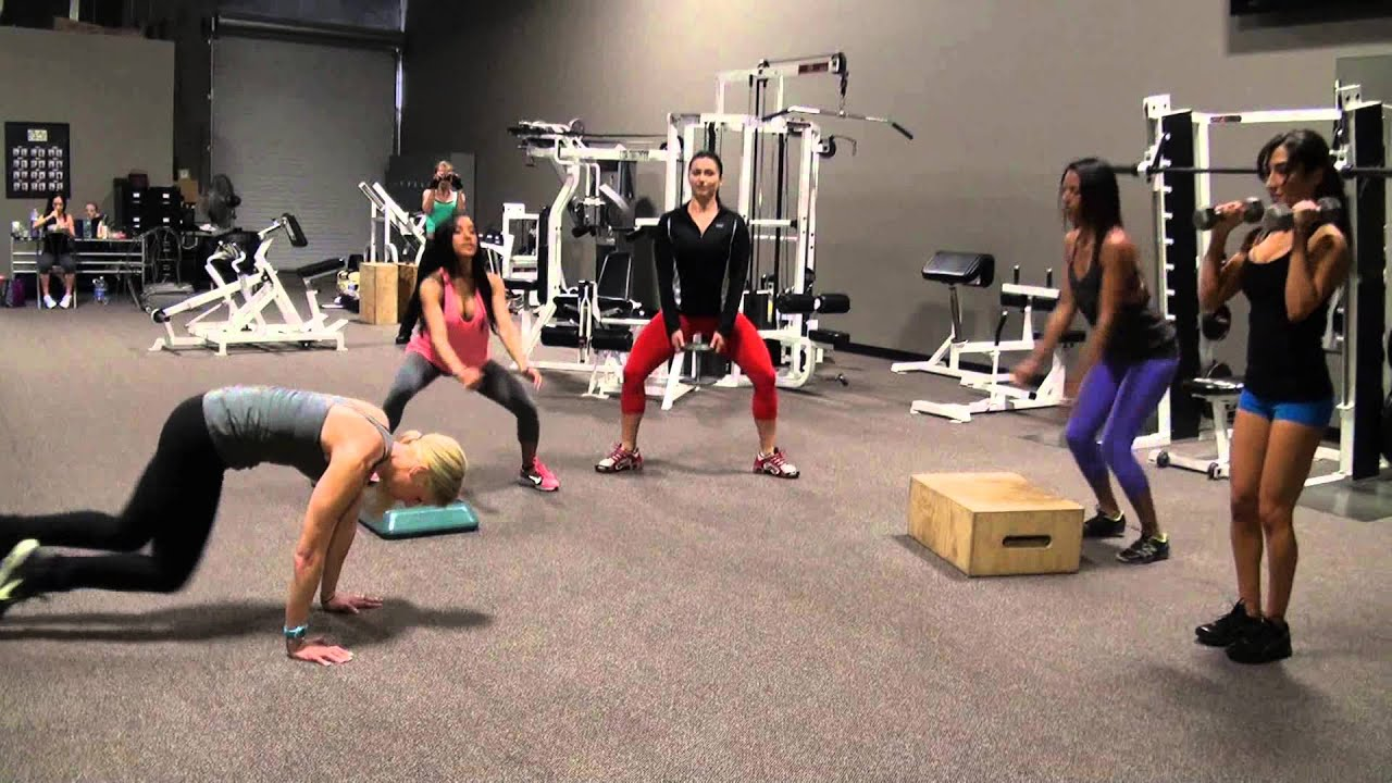 Oddo's Angels Group Circuit Training - YouTube