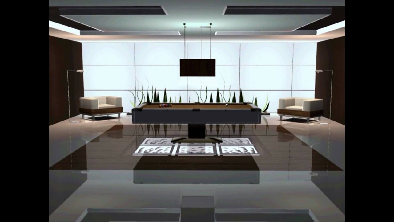 Interior designs moderno sims 2 youtube for Interior design moderno