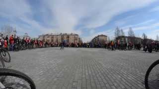 Открытие велосезона в г. Нижний Тагил 13.04.2014 (ч.1)