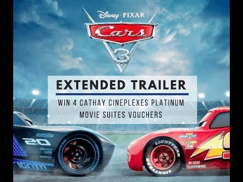 4 Cathay Cineplex Platinum Suites Movie Vouchers to be given away – Cars 3