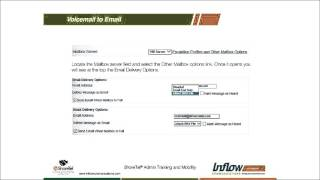 How to configure ShoreTel Voicemail to Email