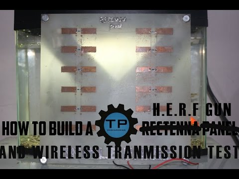 Microwave wireless transmission of electricity WORKS!!